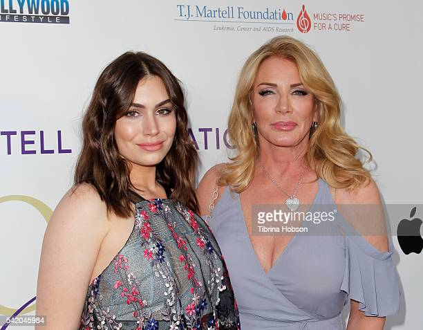Shannon Tweed Simmons and Sophie Simmons attend the Women of Influence Awards at The Wilshire Ebell Theatre on June 21 2016 in Los Angeles California