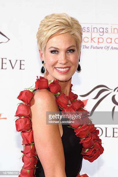 Shannon Voss attends the Unbridled Eve Gala for the 139th Kentucky Derby at The Galt House Hotel Suites' Grand Ballroom on May 3 2013 in Louisville...