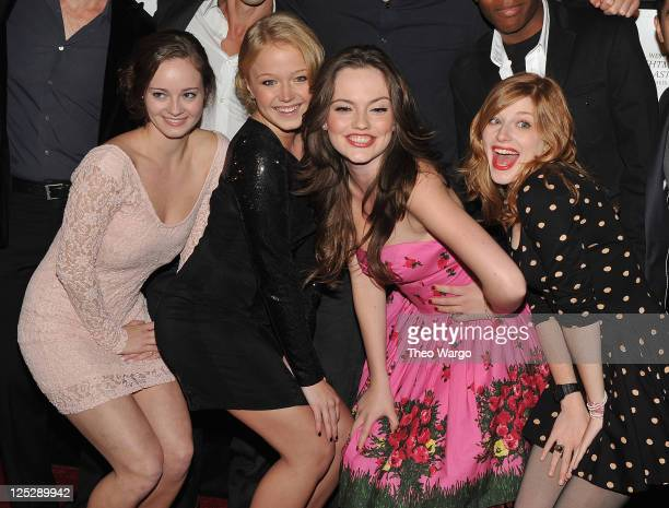 Shannon Walsh Paulina Olszynski Emily Meade and Zena Grey attend the premiere of 'My Soul To Take' at AMC Loews Lincoln Square 13 on October 6 2010...