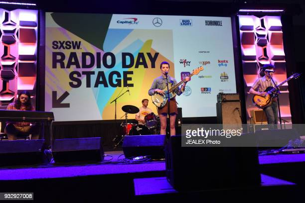 Shannon Wise of The Shacks performs at Radio Day Stage during SXSW at Radio Day Stage on March 16 2018 in Austin Texas