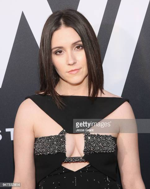 Shannon Woodward attends the Premiere of HBO's Westworld Season 2 at The Cinerama Dome on April 16 2018 in Los Angeles California