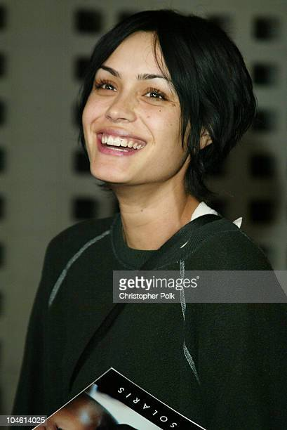 Shannyn Sossamon During Premiere Screening Of Solaris At Pacific Cinerama Dome In Hollywood California United States