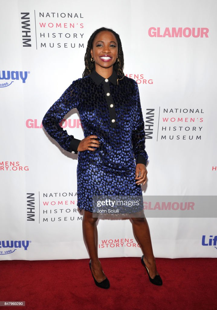 Shanola Hampton at the Women Making History Awards at The Beverly Hilton Hotel on September 16, 2017 in Beverly Hills, California.