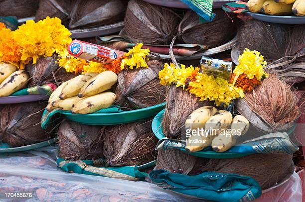 Shantadurga temple offerings
