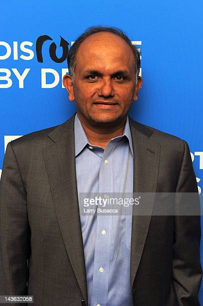 Shantanu Narayen CEO Adobe attends Wired Business Conference in Partnership with MDC Partners at the Museum of Jewish Heritage on May 1 2012 in New...