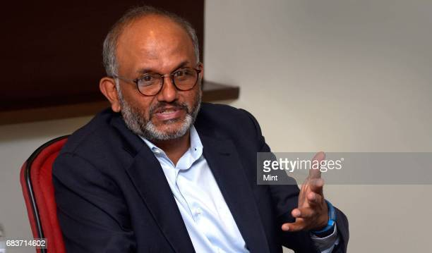 Shantanu Narayen Chairman President and CEO Adobe photographed during a roundtable media conference in Mumbai on May 3 2017