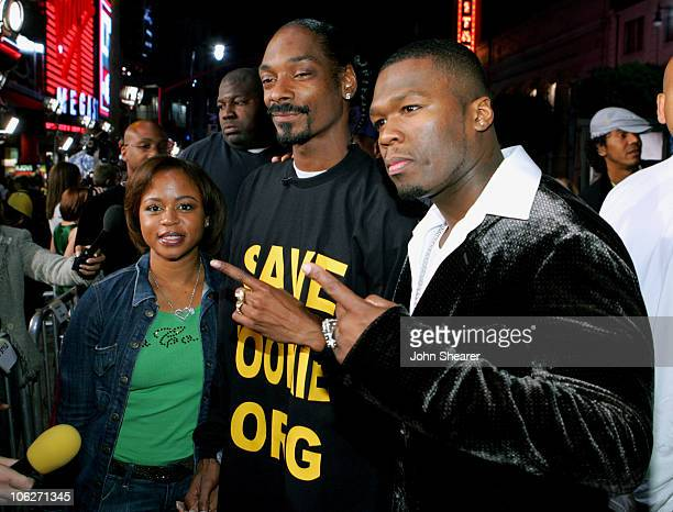 Shante Broadus Snoop Dogg and Curtis 50 Cent Jackson