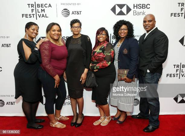 Shante Needham Shavon Bland Geneva ReedVeal Sierra Cole Sharon Cooper and Cannon Lambert attend the HBO Documentary Film 'Say Her Name The Life and...