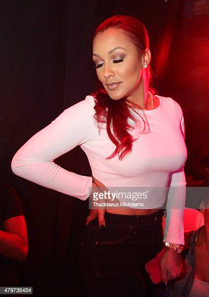 Shantel Jackson at House of Blues on July 5 2015 in New Orleans Louisiana
