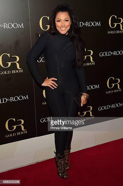 Shantel Jackson attends Gold Room Monday Nights at Gold Room on September 21 2014 in Atlanta Georgia