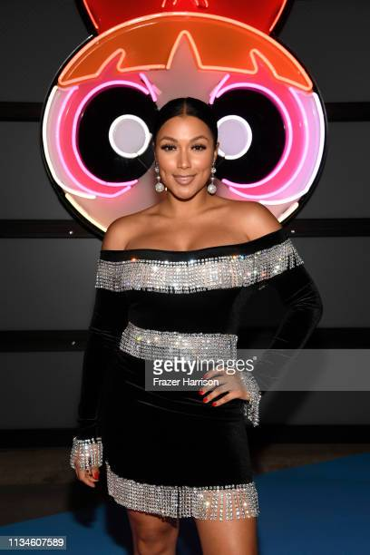 Shantel Jackson attends the Christian Cowan x The Powerpuff Girls fashion show at City Market Social House on March 08 2019 in Los Angeles California