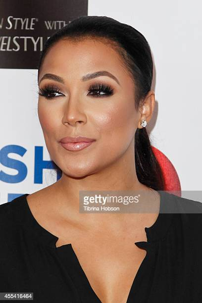 Shantel Jackson attends the Face Forward gala supporting victims of domestic abuse at Millennium Biltmore Hotel on September 13 2014 in Los Angeles...