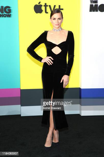 Shantel VanSanten attends Apple TV's The Morning Show World Premiere at David Geffen Hall on October 28 2019 in New York City