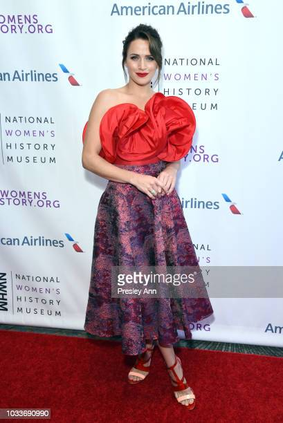 Shantel VanSanten attends National Women's History Museum's 7th Annual Women Making History Awards at The Beverly Hilton Hotel on September 15 2018...