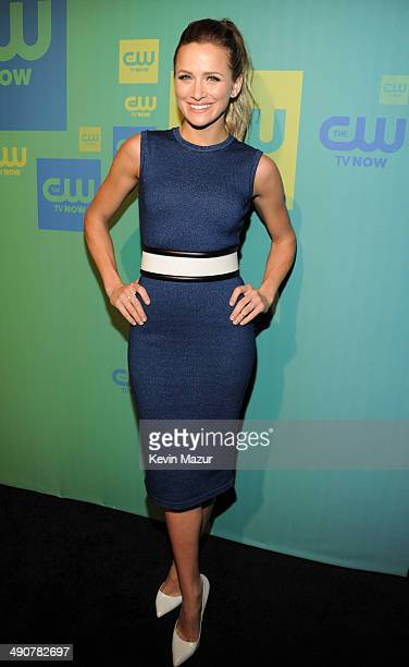 Shantel VanSanten attends The CW Network's 2014 Upfront at The London Hotel on May 15 2014 in New York City