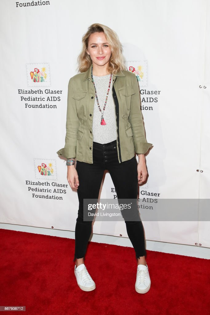 Shantel VanSanten attends the Elizabeth Glaser Pediatric AIDS Foundation's 28th Annual 'A Time For Heroes' Family Festival at Smashbox Studios on October 29, 2017 in Culver City, California.