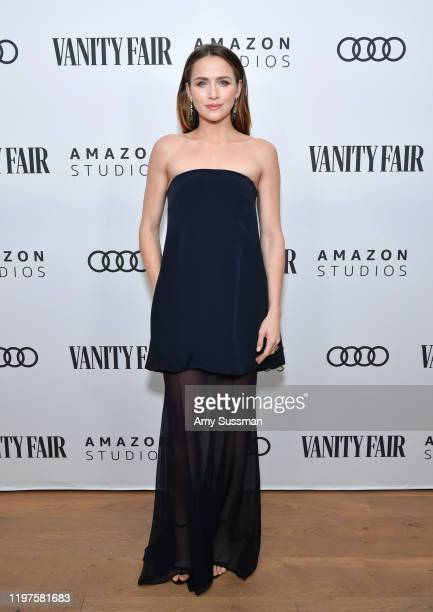 Shantel VanSanten attends The Vanity Fair x Amazon Studios 2020 Awards Season Celebration at San Vicente Bungalows on January 04 2020 in West...