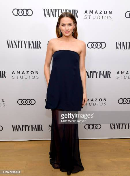 Shantel VanSanten attends Vanity Fair Amazon Studios and Audi Celebrate The 2020 Awards Season at San Vicente Bungalows on January 04 2020 in West...