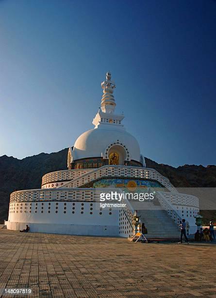 Shanti Stupa (Peace Pagoda), Ladakh, India