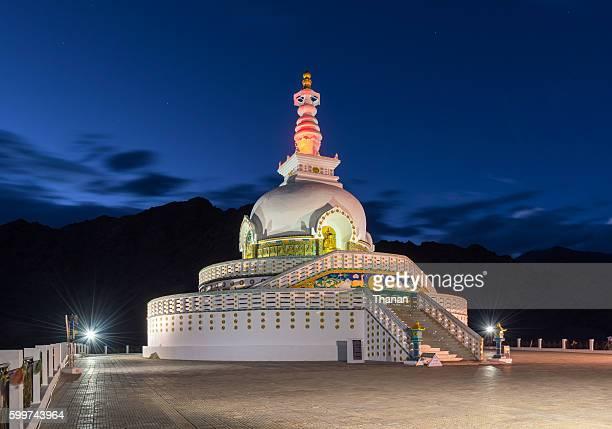 Shanti stupa temple