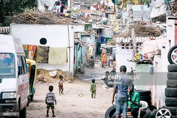 Shanty town, Delhi