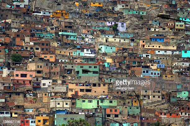 Shanty Town in Lima, Peru