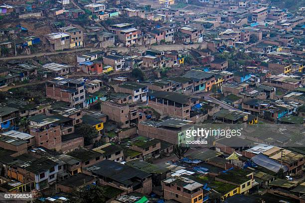Shanty Town Slums of Lima, Peru