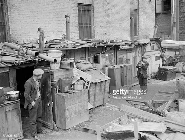 Shantytown Along Houston Street