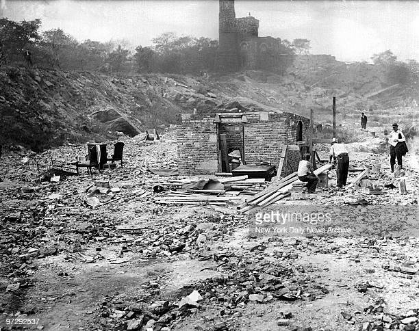 Shantytown Hooverville in Central Park
