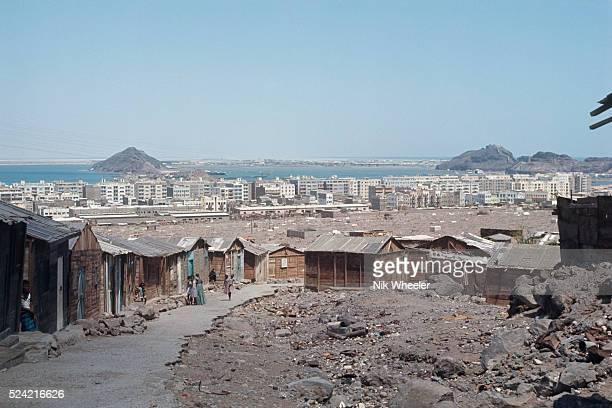 Shantytown near Aden