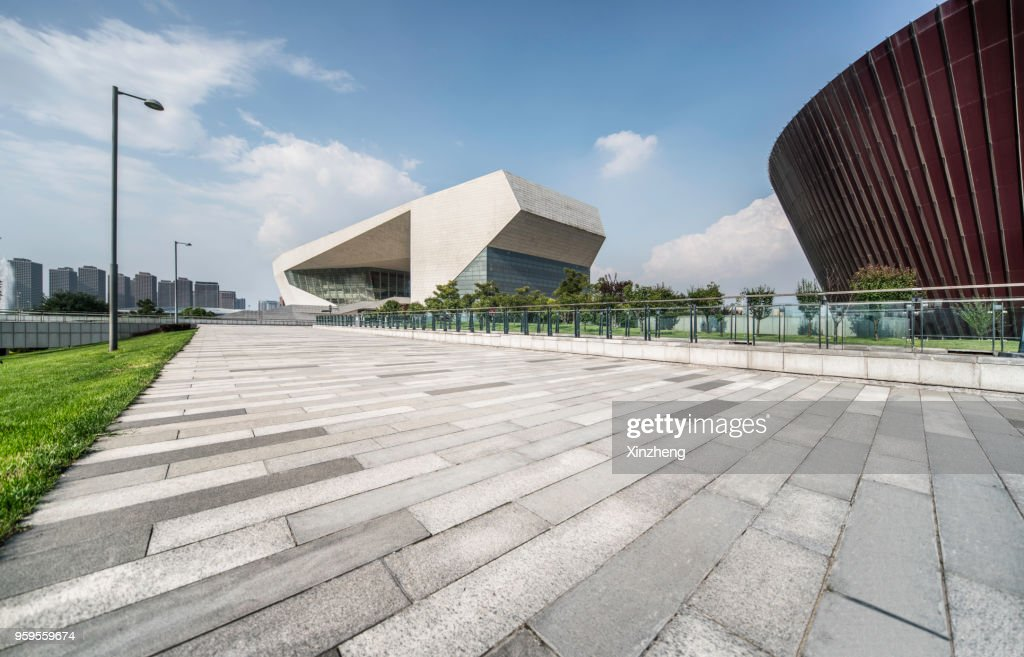 Shanxi opera house in Taiyuan, China : Stock-Foto