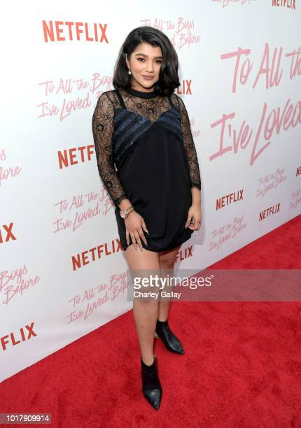 Shany Monroy attends Netflix's 'To All the Boys I've Loved Before' Los Angeles Special Screening at Arclight Cinemas Culver City on August 16 2018 in...