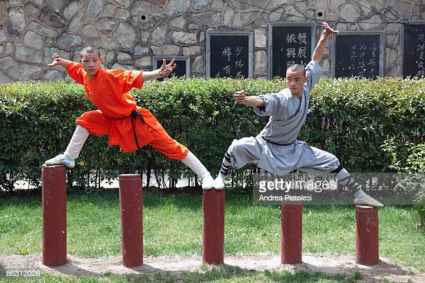 Shaolin Kung Fu training in Defeng Once upon a time there were Shaolin warrior monks at the monastery in Sun Song forest which is on one of China's...