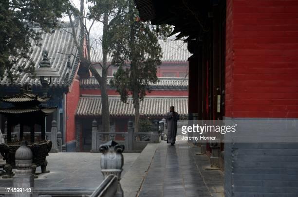 Shaolin Monastery or Shaolin Temple, a Cha?n Buddhist temple on Mount Song, near Dengfeng, Zhengzhou..