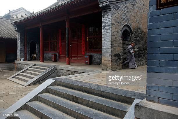 MONASTERY ZHENGZHOU HENAN CHINA Shaolin Monastery or Shaolin Temple a Chan Buddhist temple on Mount Song near Dengfeng Zhengzhou