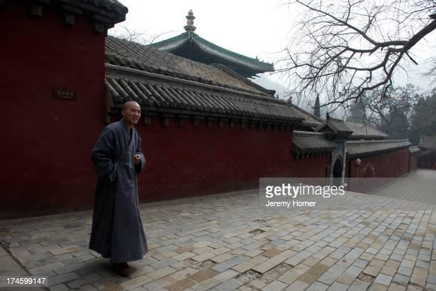 MONASTERY ZHENGZHOU HENAN CHINA Shaolin Monastery or Shaolin Temple a Chan Buddhist temple on Mount Song near Dengfeng Zhengzhou Henan province China