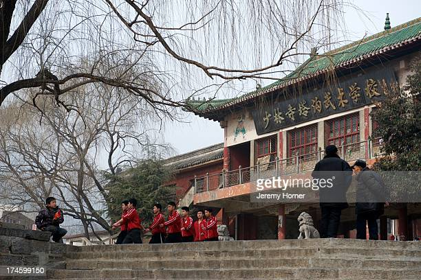 Shaolin Monastery or Shaolin Temple, a Cha?n Buddhist temple on Mount Song, near Dengfeng, Zhengzhou, Henan province, China.