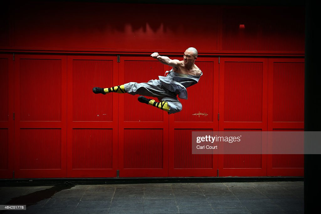World Famous Shaolin Monks Come To London's Chinatown : News Photo