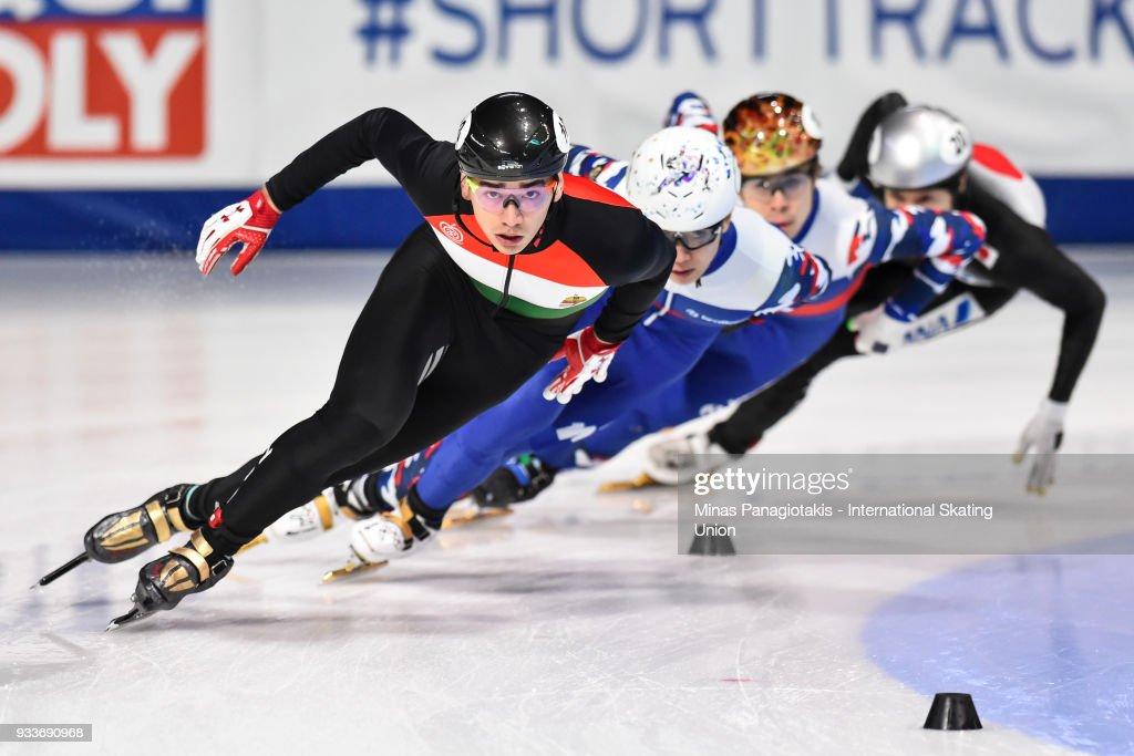 World Short Track Speed Skating Championships - Montreal : News Photo