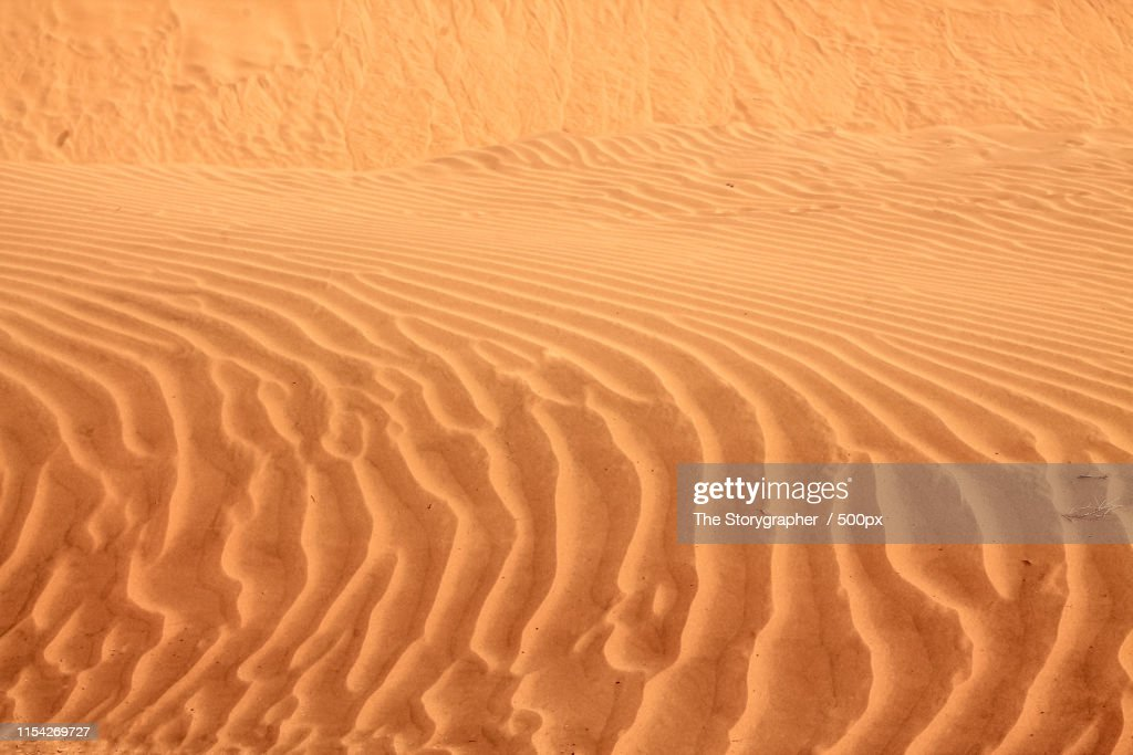 Shapes Of The Sand : Stock Photo