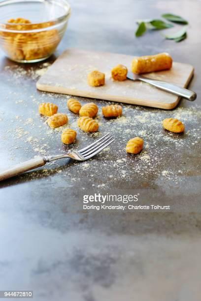 Shaping Making Gnocchi