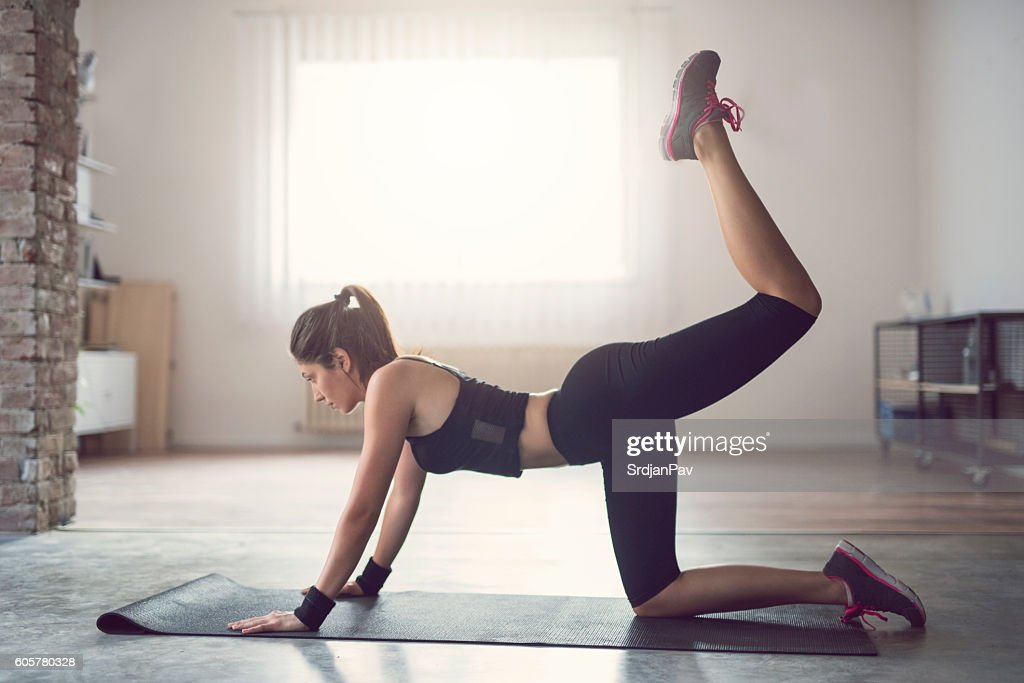 Shaping obliques : Stock Photo