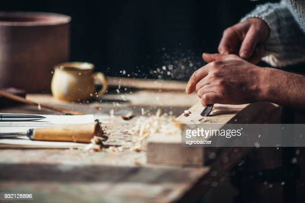 shaping wood - carpenter stock pictures, royalty-free photos & images