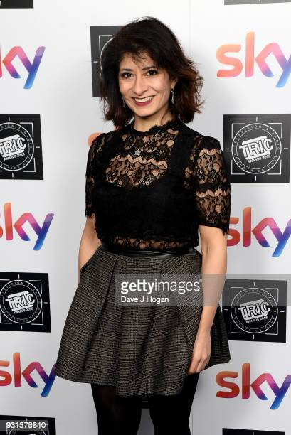 Shappi Khorsandi attends the TRIC Awards 2018 held at The Grosvenor House Hotel on March 13 2018 in London England