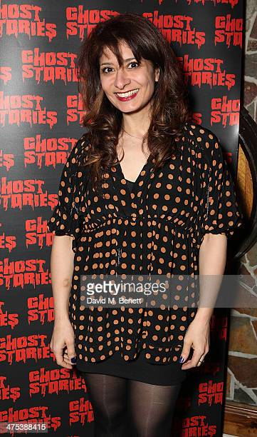 Shappi Korshandi attends the after party for the press night of Ghost Stories at on February 27 2014 in London England