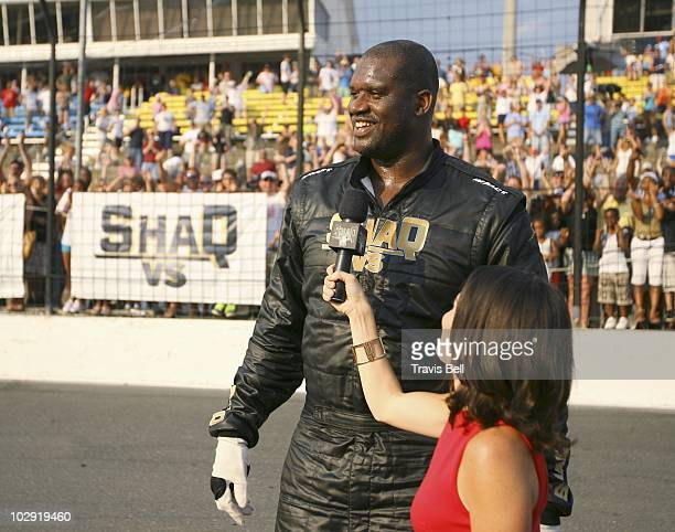 VS Shaq VS Dale Earnhardt Jr In the premiere episode Shaq VS Dale Earnhardt Jr fourtime NBA champion Shaquille O'Neal will race head to head at...