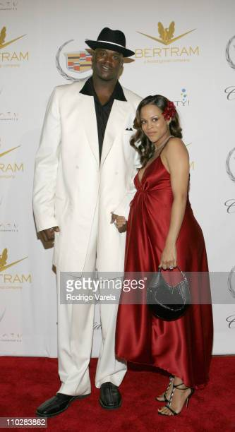 Shaquille and Shaunie O'Neal during Shaquille O'Neal's 34th Birthday Celebration Arrivals in Miami Florida United States