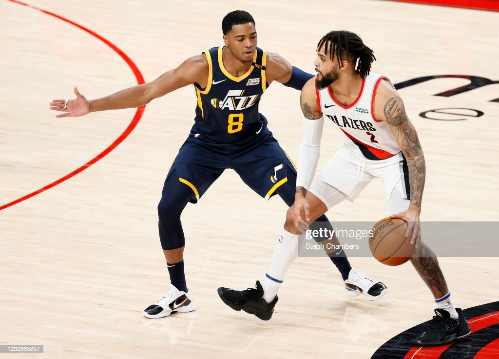 Utah Jazz v Portland Trail Blazers : News Photo