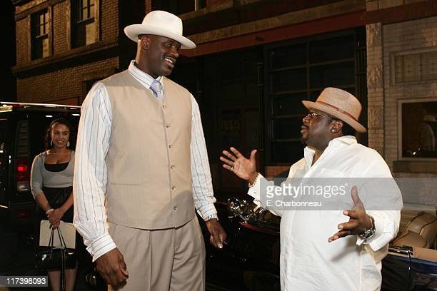 Shaquille O'Neal and Cedric the Entertainer *Exclusive*