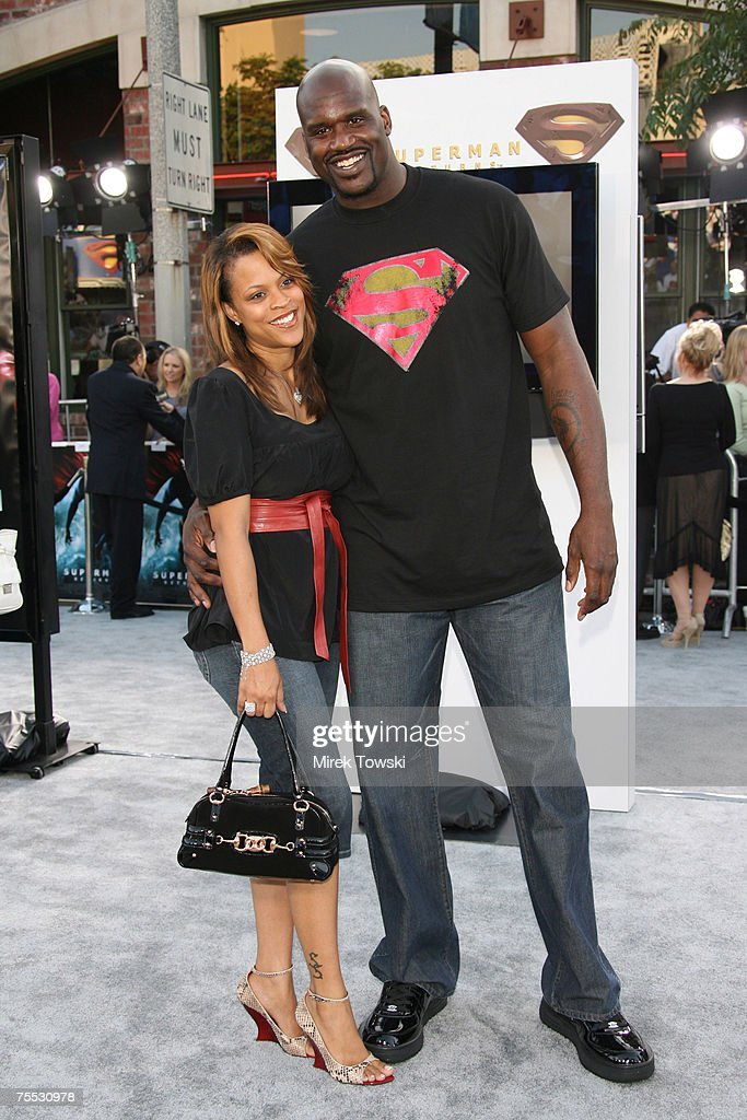 Shaquille O'Neal at the 'Superman Returns' Los Angeles Premiere at Mann Village and Bruin Theaters in Westwood, California.